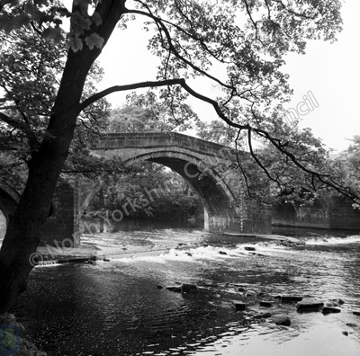 Ilkley Bridge, River Wharfe